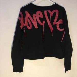 Tops - LOVE ME LONG SLEEVE SHIRT